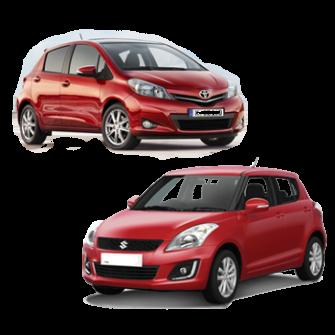 Toyota Vitz/Suzuki Swift